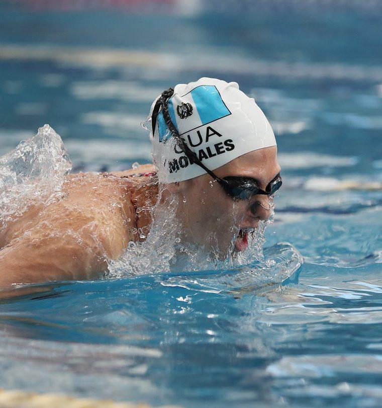 Morales disfruta de la natación y cuando llegue el momento de dejarla competitivamente, lo seguirá haciendo. (Foto Prensa Libre: Fernando López R.)