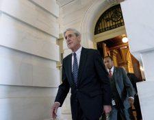 Robert Mueller, el fiscal especial en caso Rusiagate, nombró un gran jurado, lo que enfureció a Trump. (Foto Prensa Libre: AP)