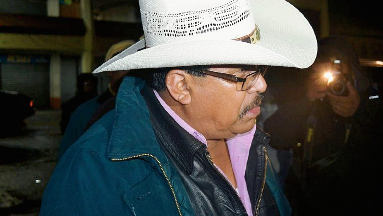Humberto Santos Gómez Pérez, alcalde de Tejutla, San Marcos. (Foto Prensa Libre: PNC)
