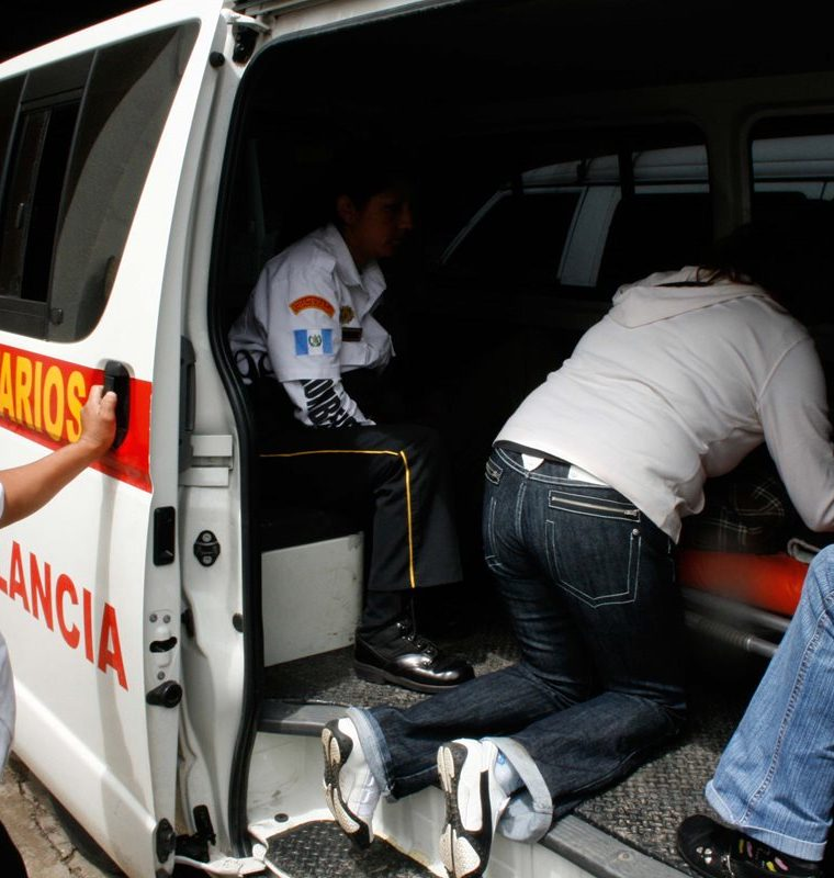 La mayor parte de servicios que se atienden en la 21 Compañía de los Bomberos Voluntarios son emergencias. (Foto Prensa Libre: César Pérez)