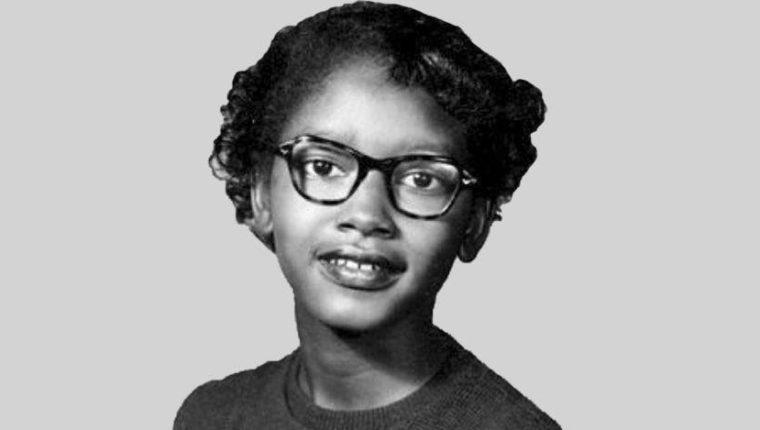 Nueve meses antes de que Rosa Parks hiciera historia, esta niña de 15 años también rehusó a ceder su asiento. (Foto: Wikipedia) ALAMY