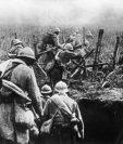 """La Primera Guerra Mundial también fue conocida como la """"Gran Guerra"""" y duró de 1914 a 1918. (Foto Prensa Libre: AFP)"""