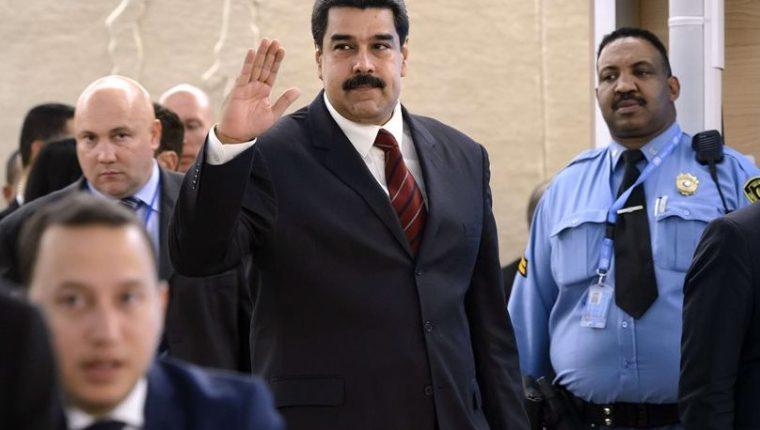 Maduro dice que