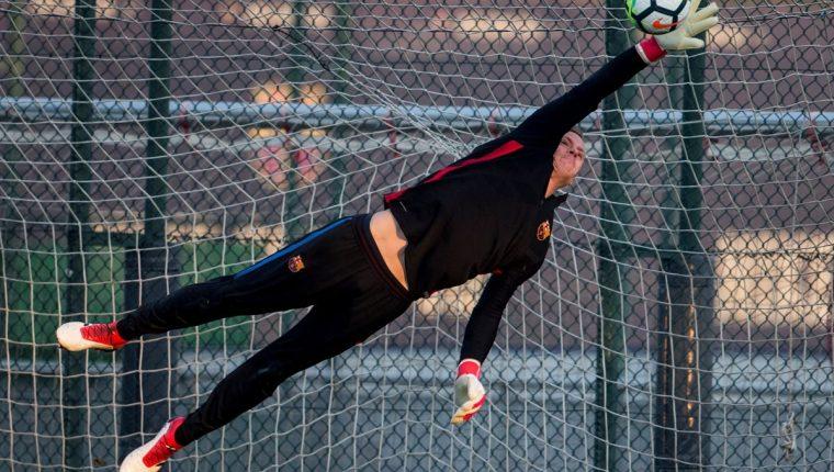 El guardameta del Barcelona Marc Ter Stegen encabeza el listado de jugadores de la Selección de Alemania. (Foto Prensa Libre: AFP)