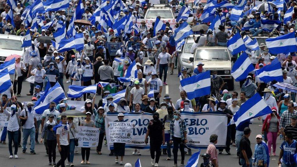 Fitch Ratings bajó calificación de Nicaragua por contracción económica