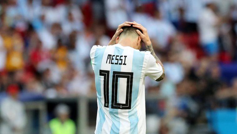 Messi, sin saberlo, provocó la separación de un matrimonio de muchos años. (Foto Prensa Libre: EFE)