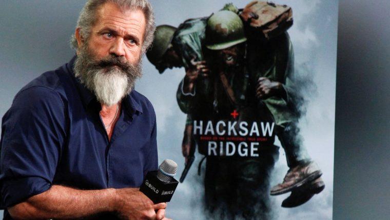 Mel Gibson está de regreso con la película Hacksaw Ridge. (Foto Prensa Libre: AP)