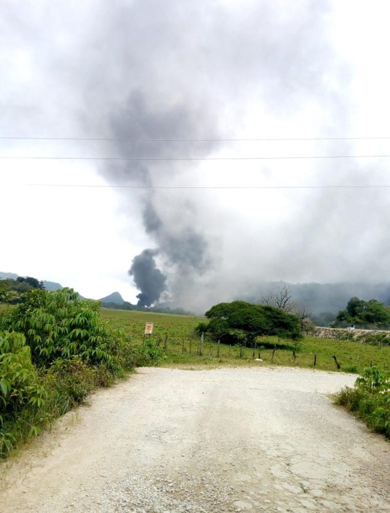Un nuevo ataque contra hidroeléctrica se registra en Ixquisis, San Mateo Ixtatán, Huehuetenango. (Foto Prensa Libre: Cortesía)