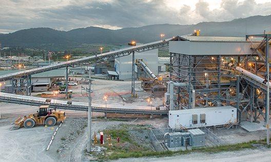 Imagen de la mina El Escobal, San Rafael Las Flores, Santa Rosa. (Foto Prensa Libre: Hemeroteca PL)