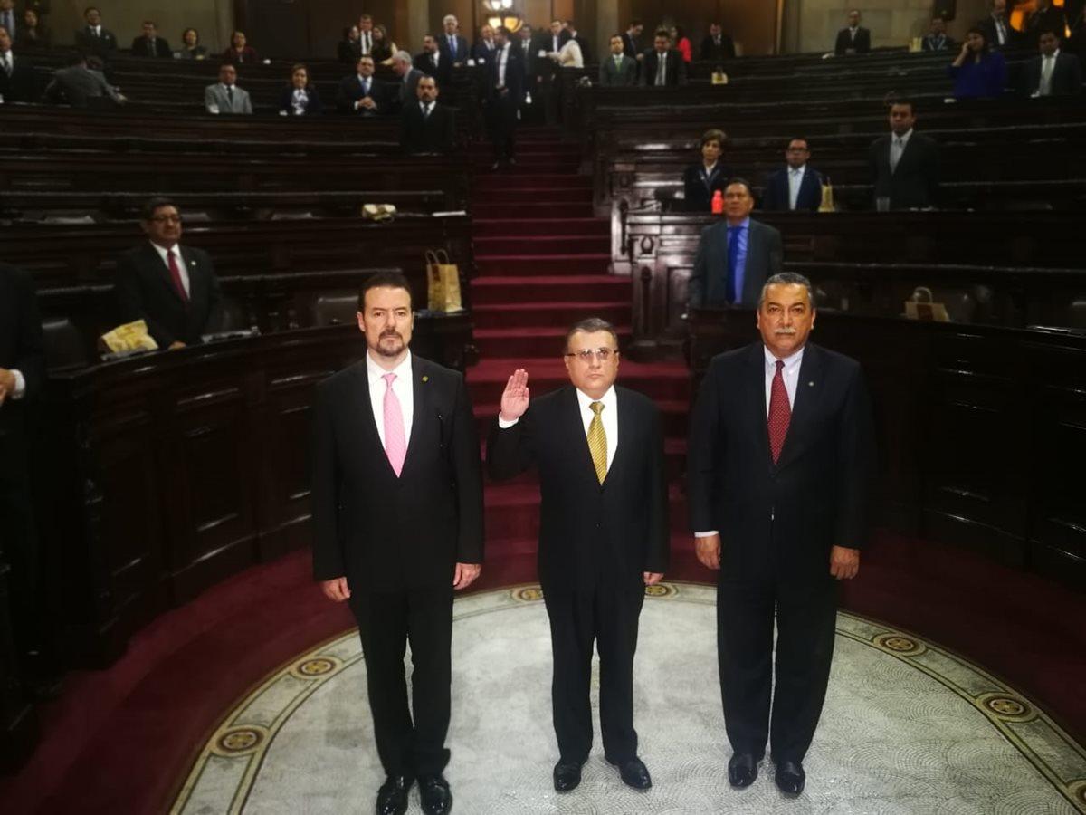 Duarte Barreda indicó que no tiene impedimentos para ser magistrado de la CSJ. (Foto Prensa Libre: Carlos Álvarez)
