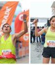 Luis Carlos Rivero y Cindy Monterroso fueron las figuras en Xela. (Foto Prensa Libre: Raúl Juárez)