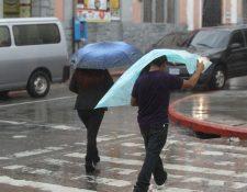 El período lluvioso se extenderá todo octubre y será hasta la primera semana de noviembre que comience la época fría, según el Insivumeh. (Foto Prensa Libre: Hemeroteca PL)