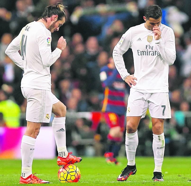 Bale y Cristiano han compartido alegría y tristezas en el Real Madrdid. (Foto Prensa Libre: Hemeroteca PL)