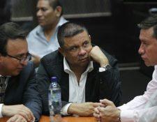 Morales Guerra durante la audiencia de este miércoles en el Juzgado de Mayor Riesgo B. (Foto Prensa Libre: Paulo Raquec)