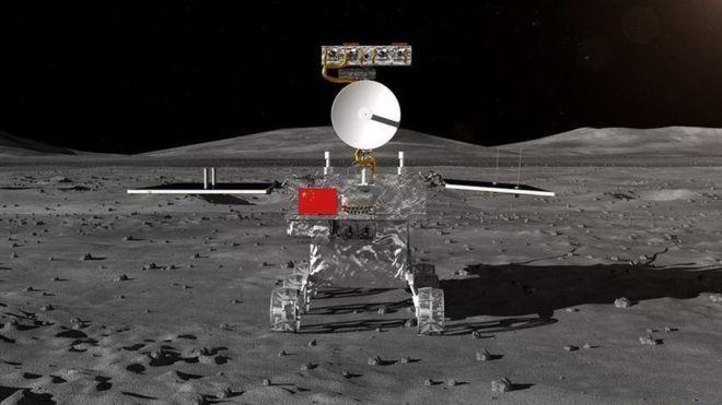 El Chang'e-4 explorará la zona de impacto más antigua y más grande sobre la superficie lunar, la cuenca Aitken. CNSA