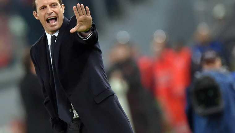 Massimiliano Allegri, entrenador de la Juventus y ahora de Cristiano Ronaldo. (Foto Prensa Libre: Hemeroteca PL)