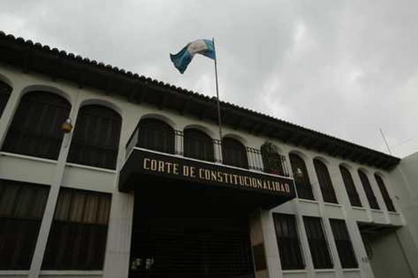 Corte de Constitucionalidad. (Foto Prensa Libre: Archivo)