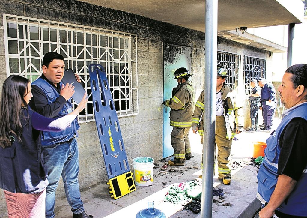 Hogar Seguro   Víctima declara sobre voraz incendio