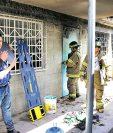 El 8 de marzo último se produjo un incendio en un dormitorio del Hogar Seguro, con cauda de 41 menores muertas. (Foto Prensa Libre: Hemeroteca ´L)