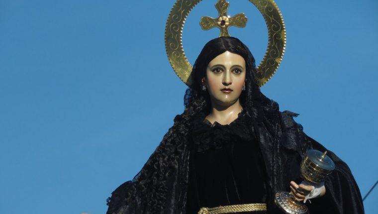 Una de las más bellas representaciones de Magdalena se encuentra en el Templo de la Recolección. (Foto: Néstor Galicia)