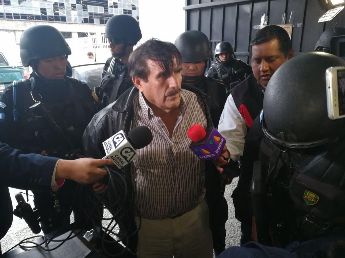 El diputado Roberto Kestler es sindicado de asociación ilícita y tráfico de influencias, vinculado al caso Negociantes de la Salud. (Foto Érick Ávila)