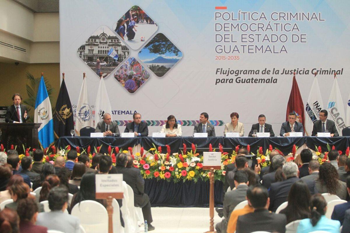 Justicia: eficiencia global es de 12.6%