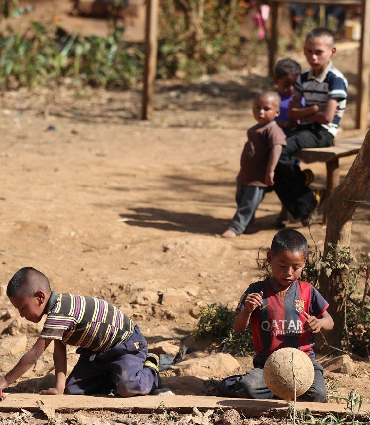 Pobladores del Corredor Seco sufrirán los efectos de la vulnerabilidad del país ante los fenómenos naturales. (Foto Prensa Libre: Hemeroteca PL)