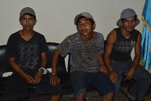 Los tres capturados en Río Bravo permanecen en el Juzgado de Paz  de ese municipio.