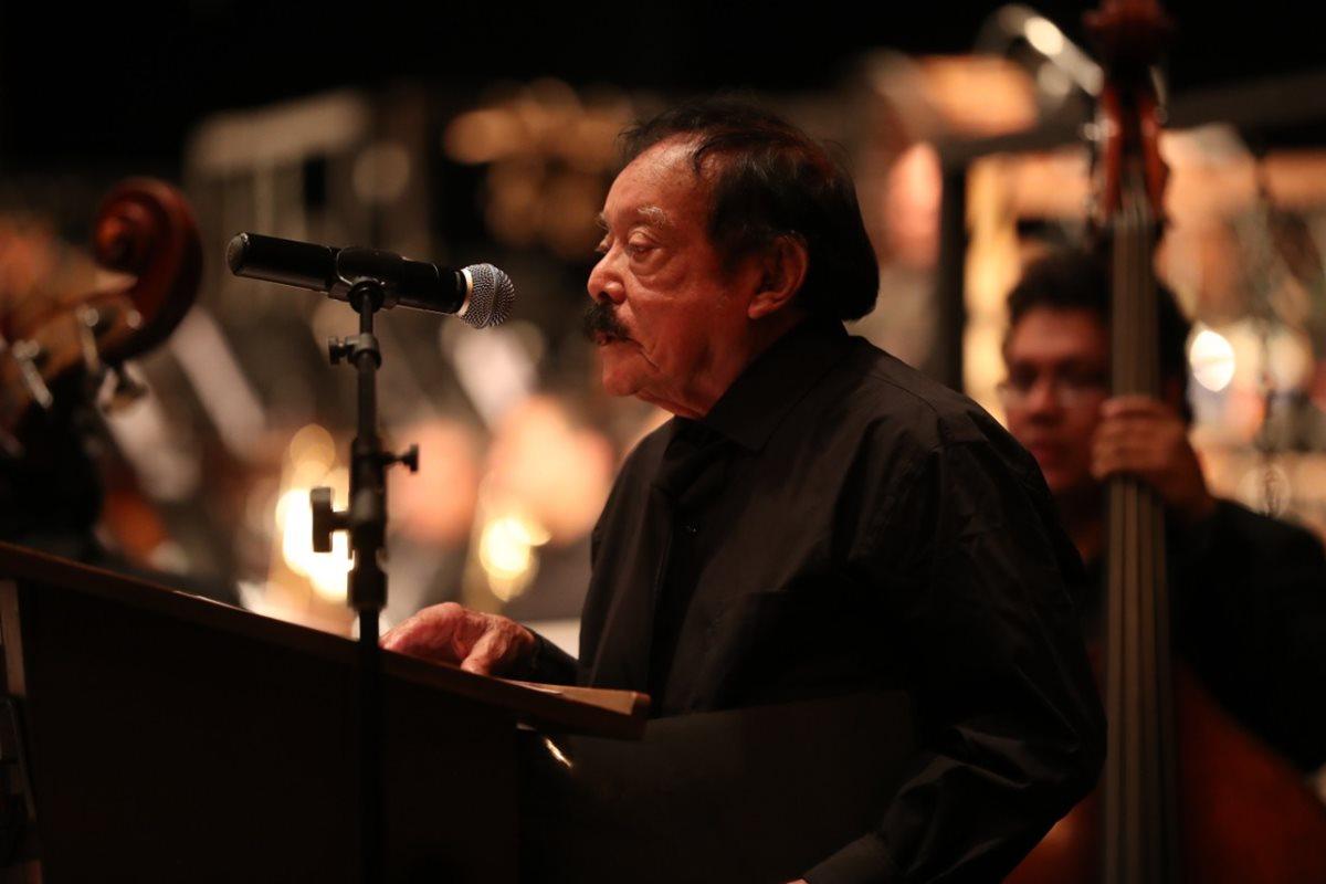 Joaquín Orellana es reconocido con una pensión vitalicia