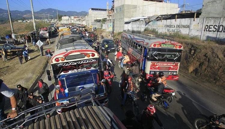 Este año se reportan más muertes por ataques al transporte colectivo en Guatemala. (Foto, Prensa Libre: Hemeroteca PL)