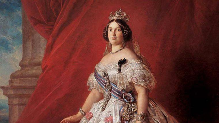 La reina de España Isabel II, quien reconoció la independencia de Guatemala en 1863. (Foto: Hemeroteca PL)