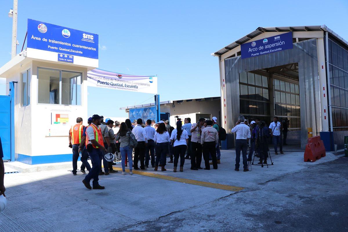 Fortalecen controles sanitarios en Puerto Quetzal