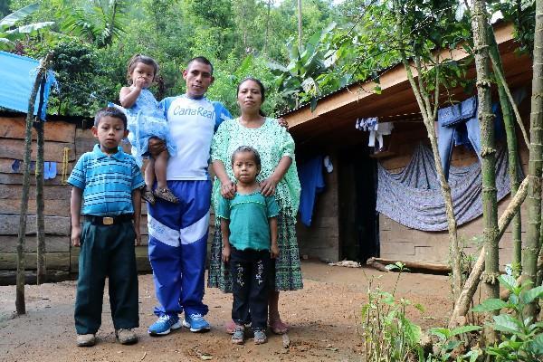 """Su familia es su mayor motivación para destacar en el deporte. (Foto Prensa Libre: Eduardo Sam Chun) <br _mce_bogus=""""1""""/>"""
