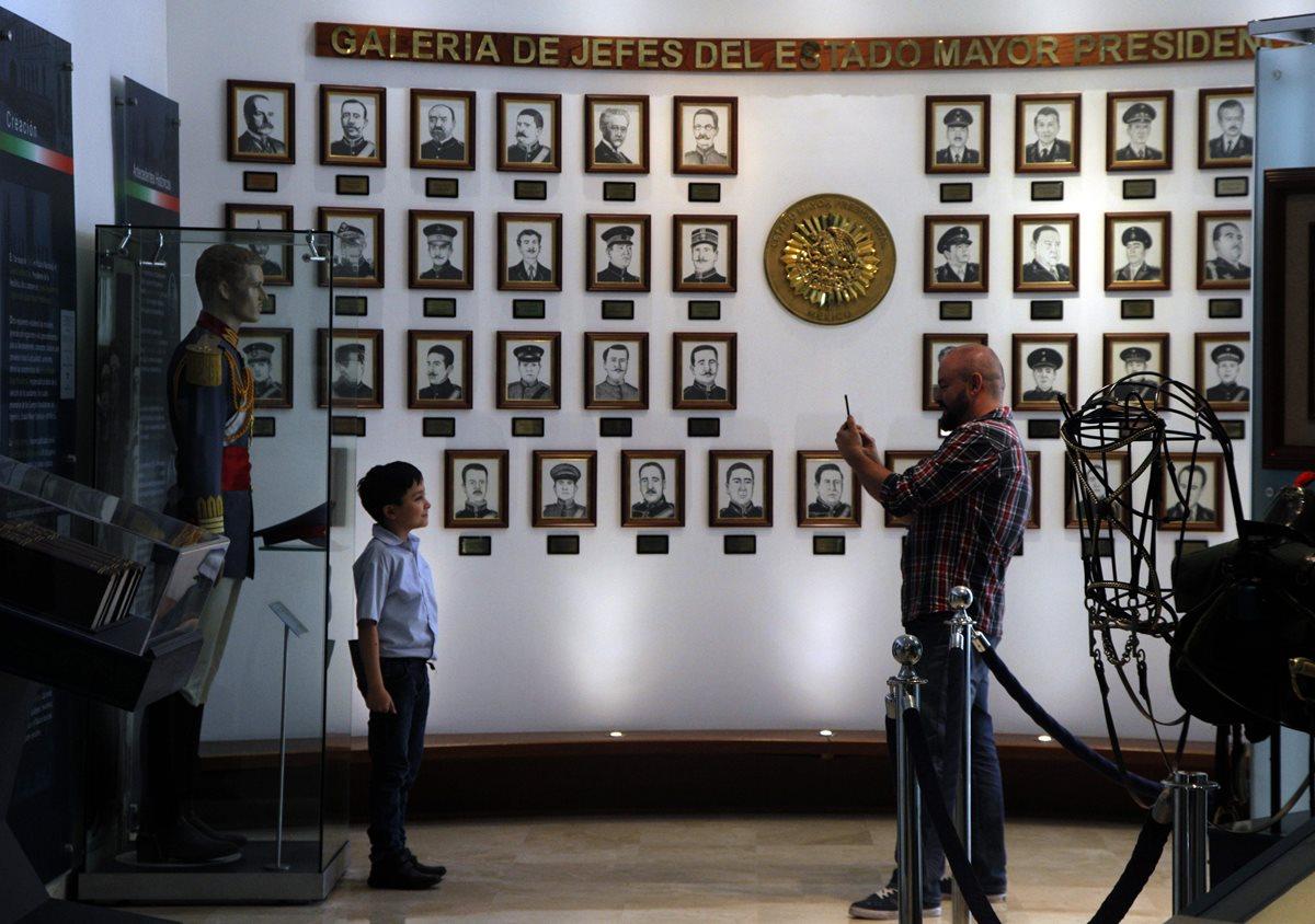 Otro de los ambientes de la residencia. (Foto Prensa Libre: AFP)