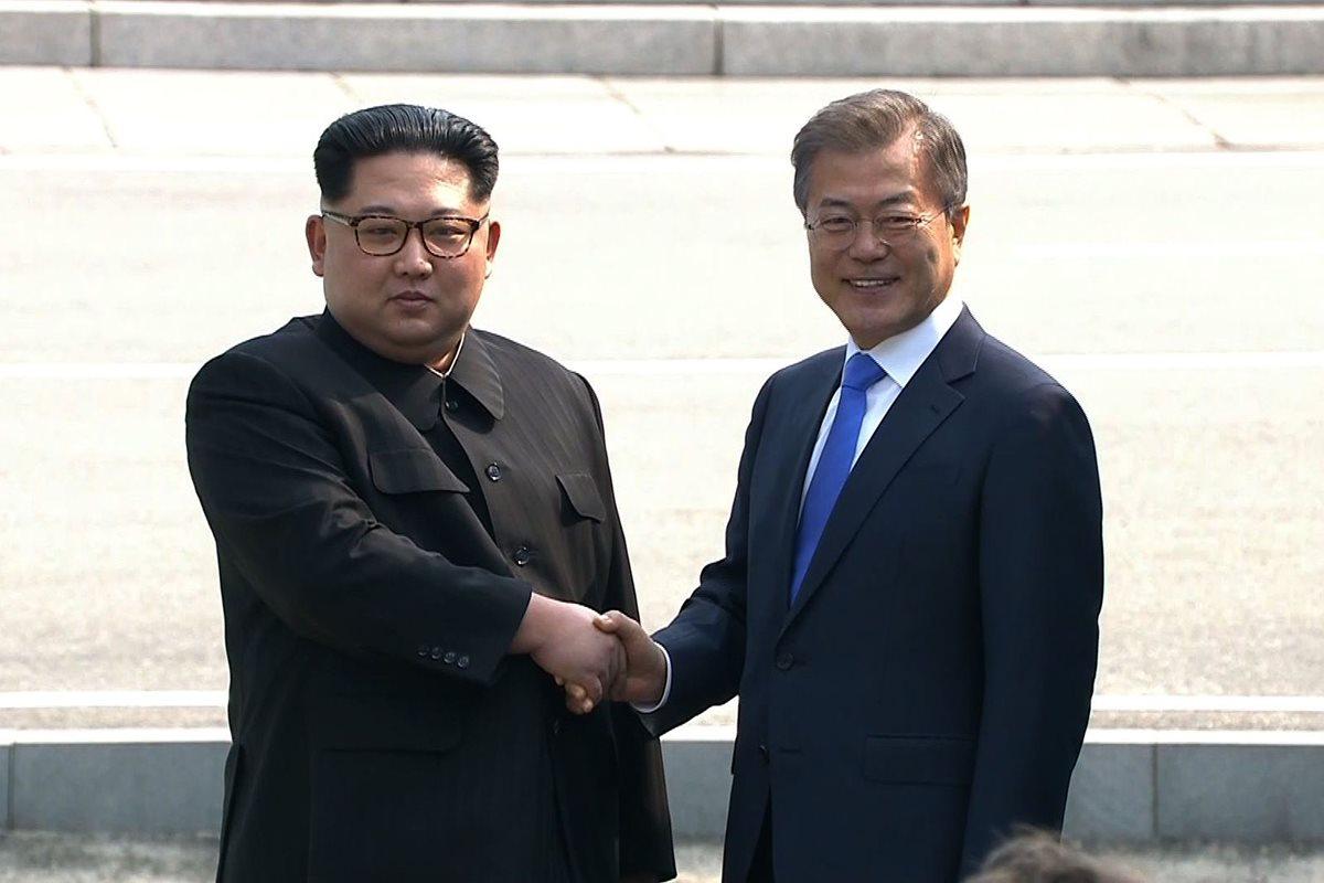 Encuentro es un avance para las negociaciones diplomáticas de las dos Coreas. (Foto AFP)