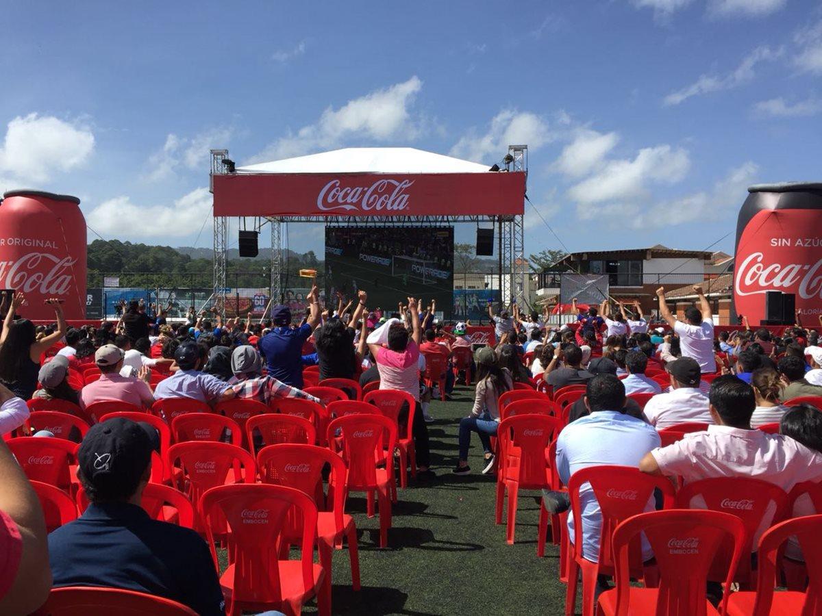 Así vivió Coca-Cola la final del Mundial