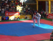 Juan Pablo Herrera, durante la competencia de este miércoles. (Foto Prensa Libre: Cortesía COG)