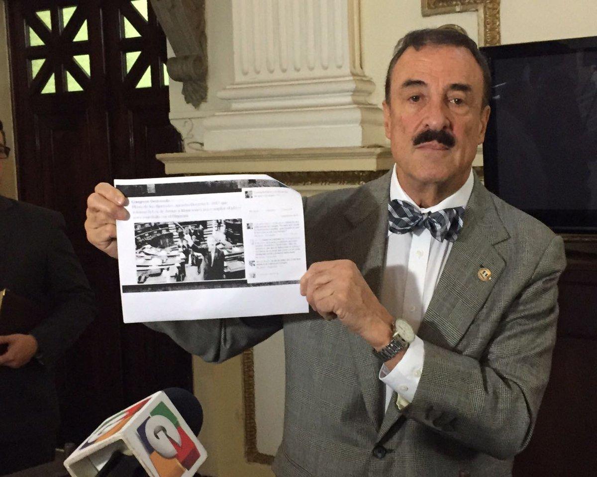 Diputado Fernando Linares denuncia amenazas de muerte