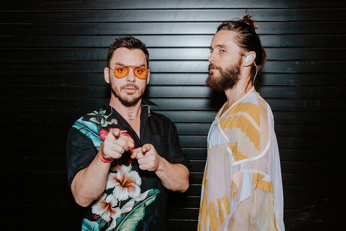 Shannon y Jared Leto, de Thirty Seconds To Mars, se presentarán en Guatemala (Foto Prensa Libre: Facebook / 30 Seconds To Mars).