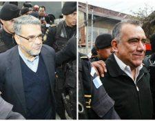Según el MP, los exdiputados Jaime Martínez y Manuel Barquín, están involucrados en un caso de lavado de dinero. (Foto Prensa Libre: Carlos Hernández Ovalle)
