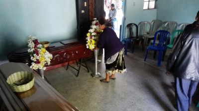 Mueren en incendio dos adultos mayores