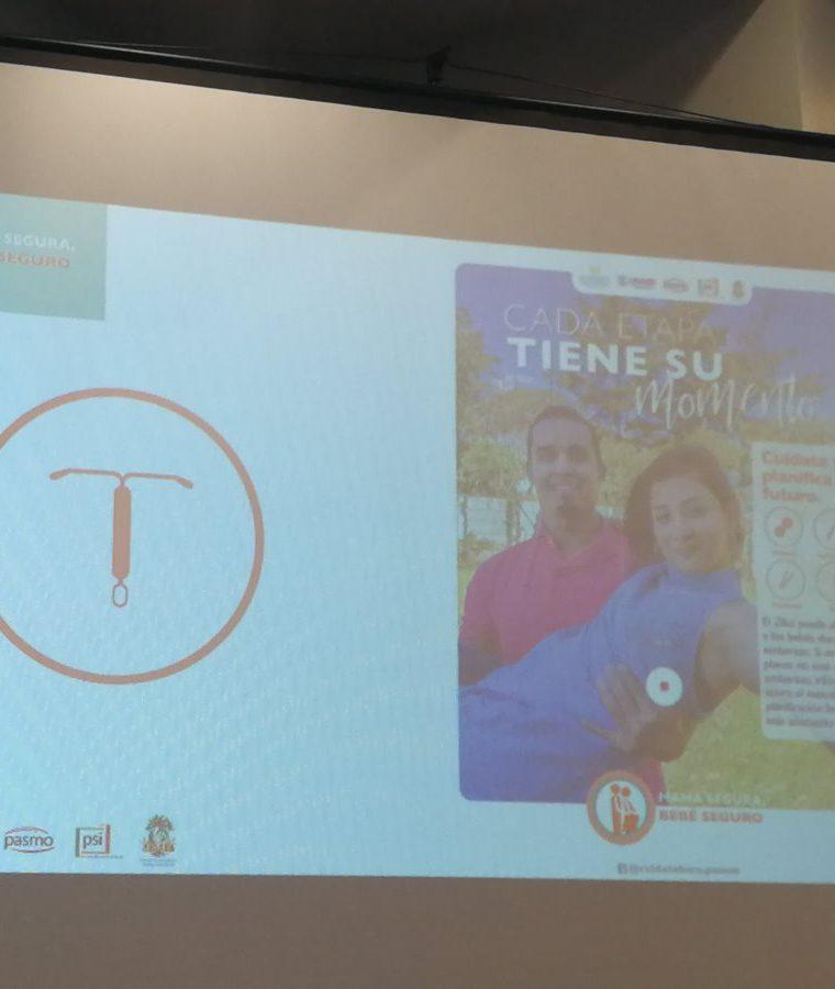 Esta es una de las piezas publicitarias que son parte de la campaña que busca prevenir el Zika. (Foto Prensa Libre: Ana Lucía Ola)