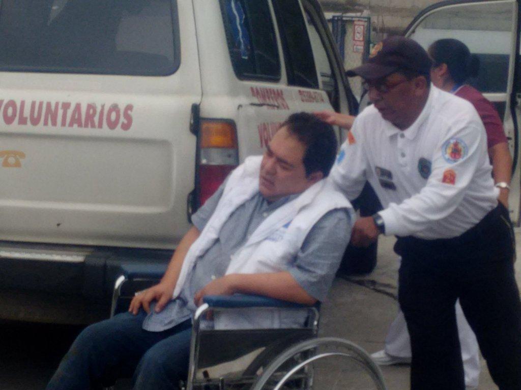 Activistas de FCN-Nación resultan heridos en accidente de tránsito