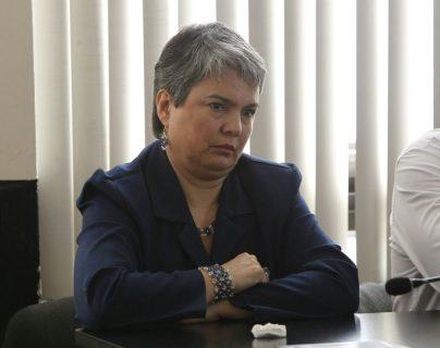 María del Rosario Melgar fue absuelta en el caso de la muerte de Víctor Rivera, en 2008. (Foto Prensa Libre: Paulo Raquec)