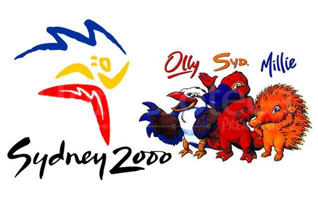 El logo oficial y las mascotas Olly, Syd y Millie, de los Juegos Olímpicos Sydney 2000. (Foto: Hemeroteca PL)