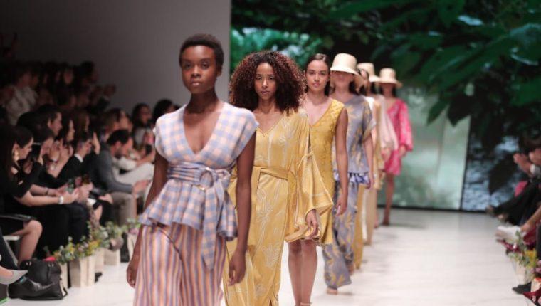 Guatemala se puso a la moda en el Mercedes-Benz Fashion Week (Foto Prensa Libre: Juan Diego González).