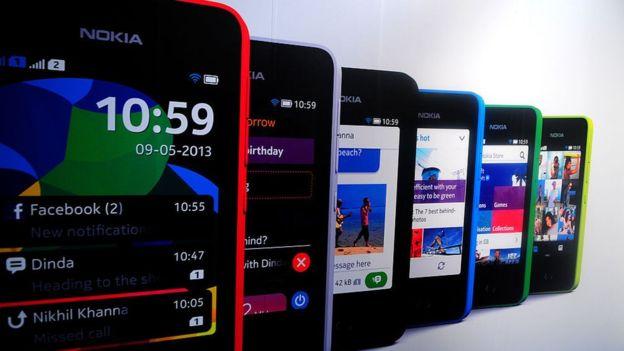 "Celulares como el Nokia Asha 501 quedaron ""viejos"" para WhatsApp. GETTY IMAGES"