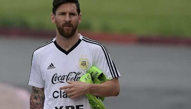 Lionel Messi no ha sido convocado para jugar con Argentina durante sus últimos amistosos. (Foto Prensa Libre: Hemeroteca PL)