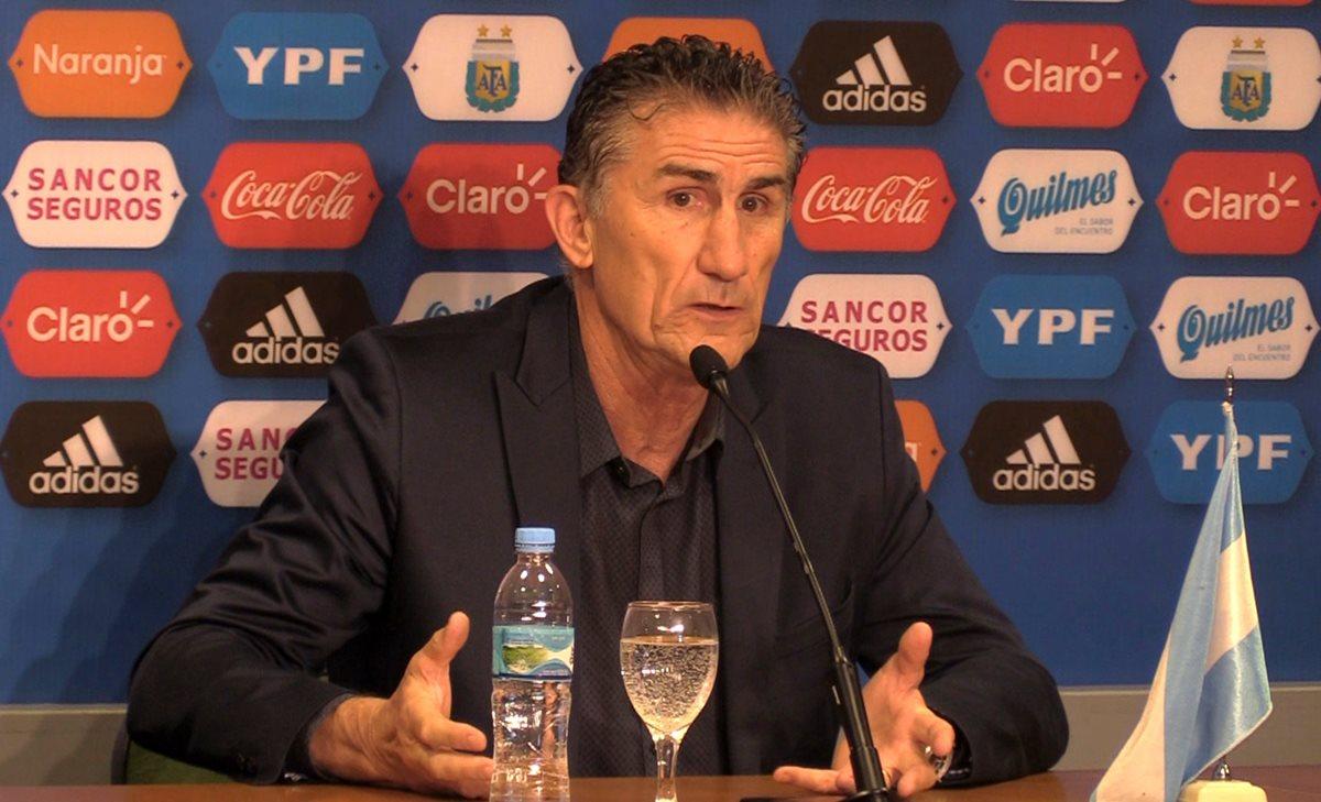 Bauza se despide con pronóstico: Argentina se clasificará al Mundial