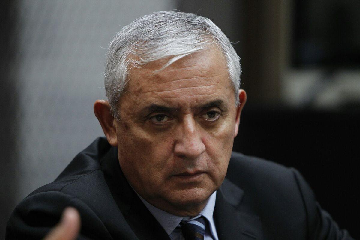 El expresidente Otto Pérez fue operado en un hospital privado. (Foto Prensa Libre: Hemeroteca PL)